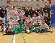 U14 wird Hallenkreismeister im Kreis Stade